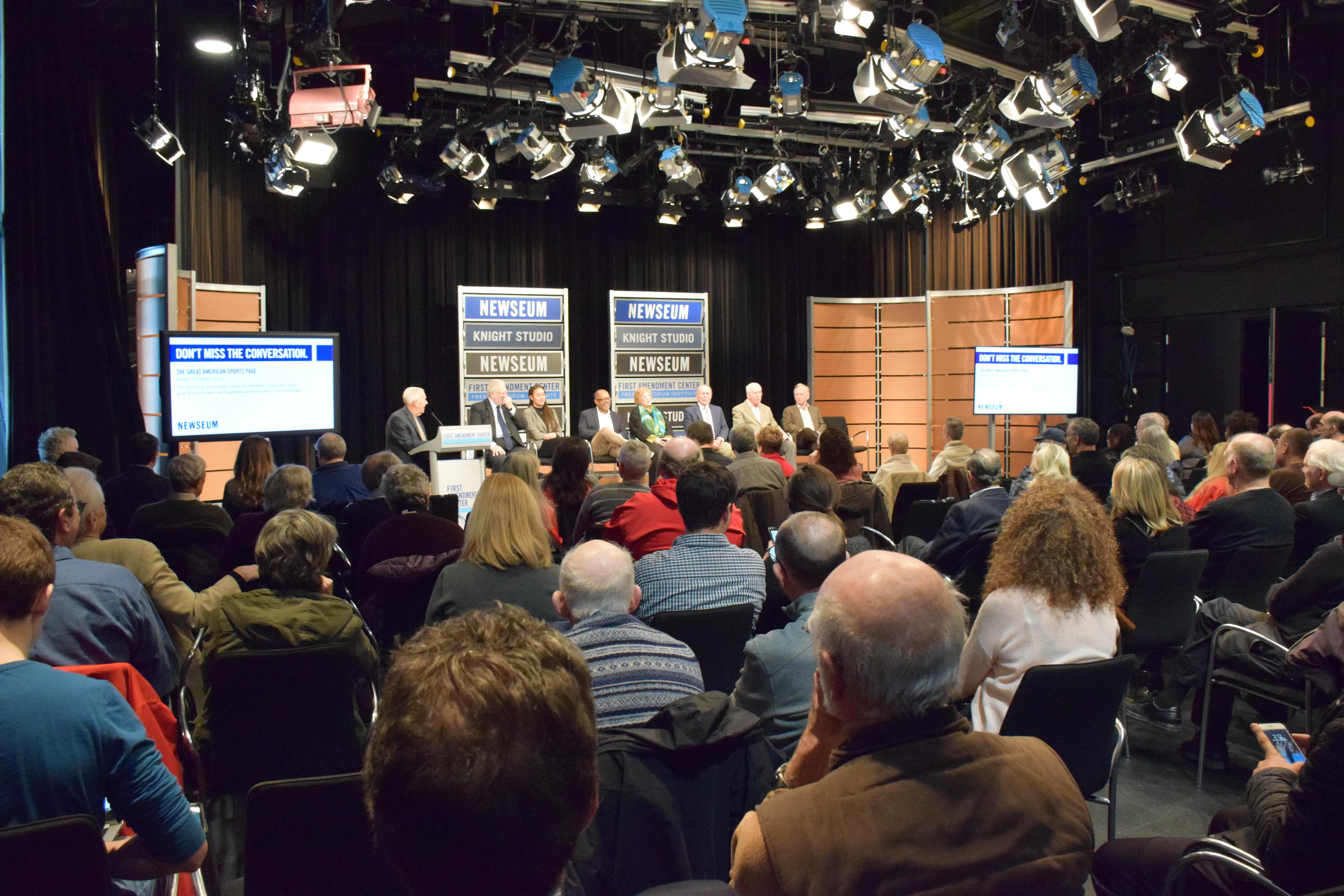 2019 Povich Newseum Panel